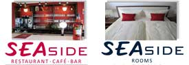 Seaside Restaurant - Cafe - Bar & Rooms